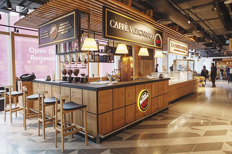 coffee bar at Eataly Toronto