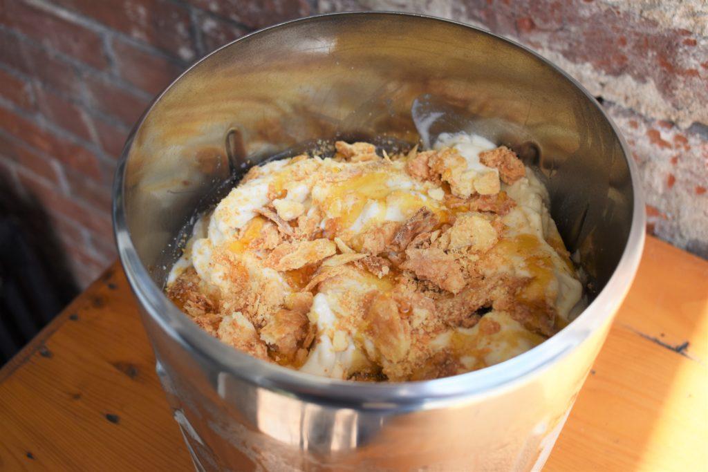 Honey-Roasted Apple Crostata Gelato