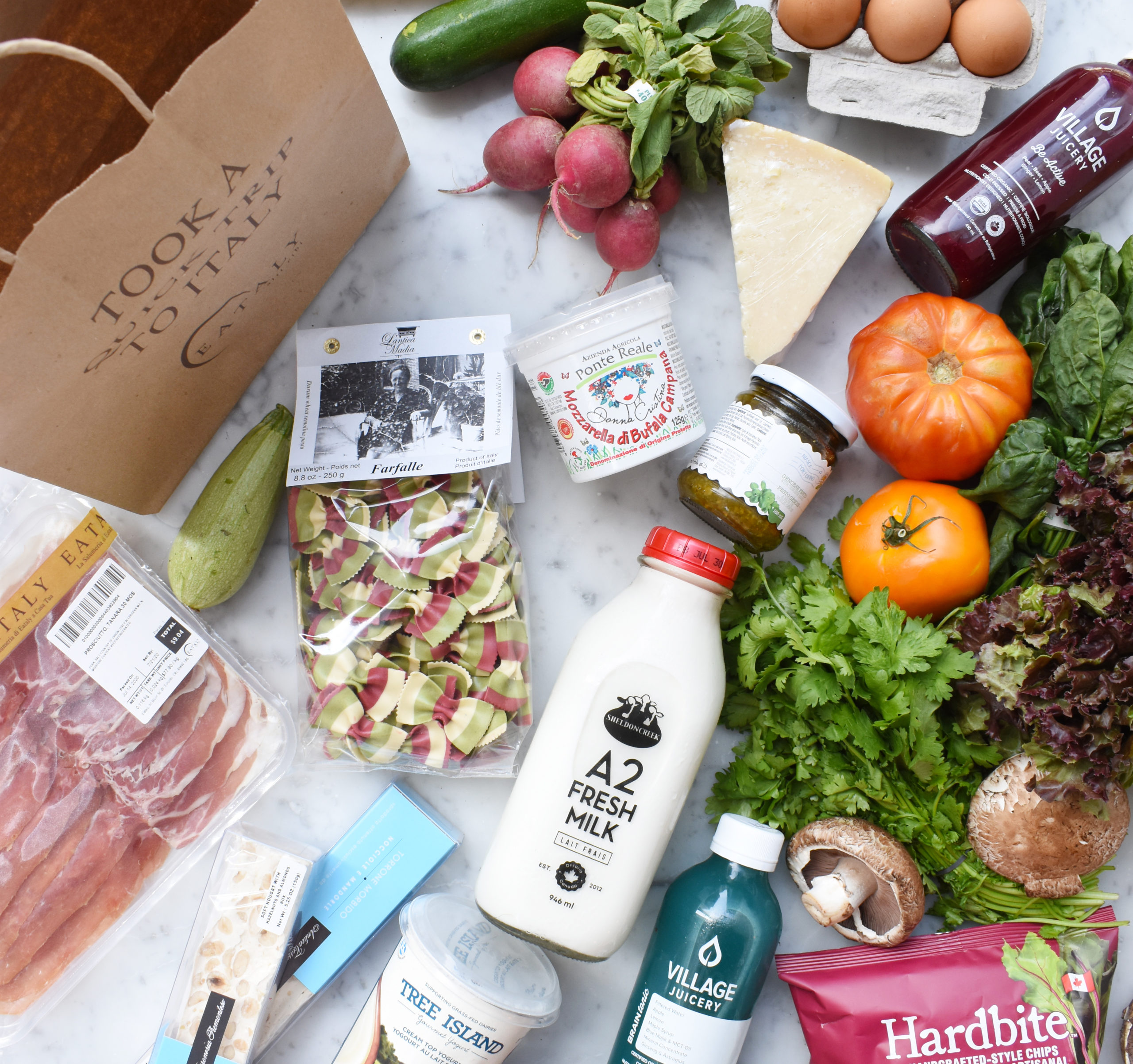 local and Italian groceries from Eataly