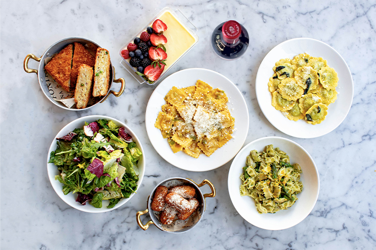 Italian dinner for 2 for takeout and food delivery