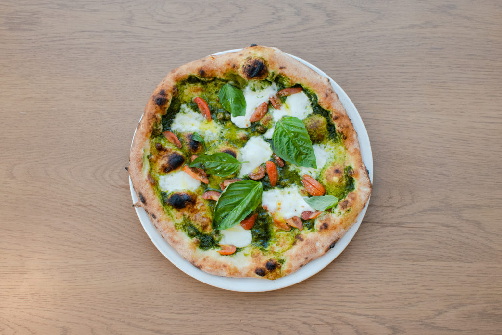 Genovese Neapolitan-style pizza