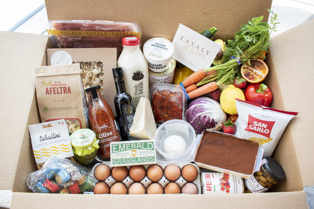 eataly grocery box