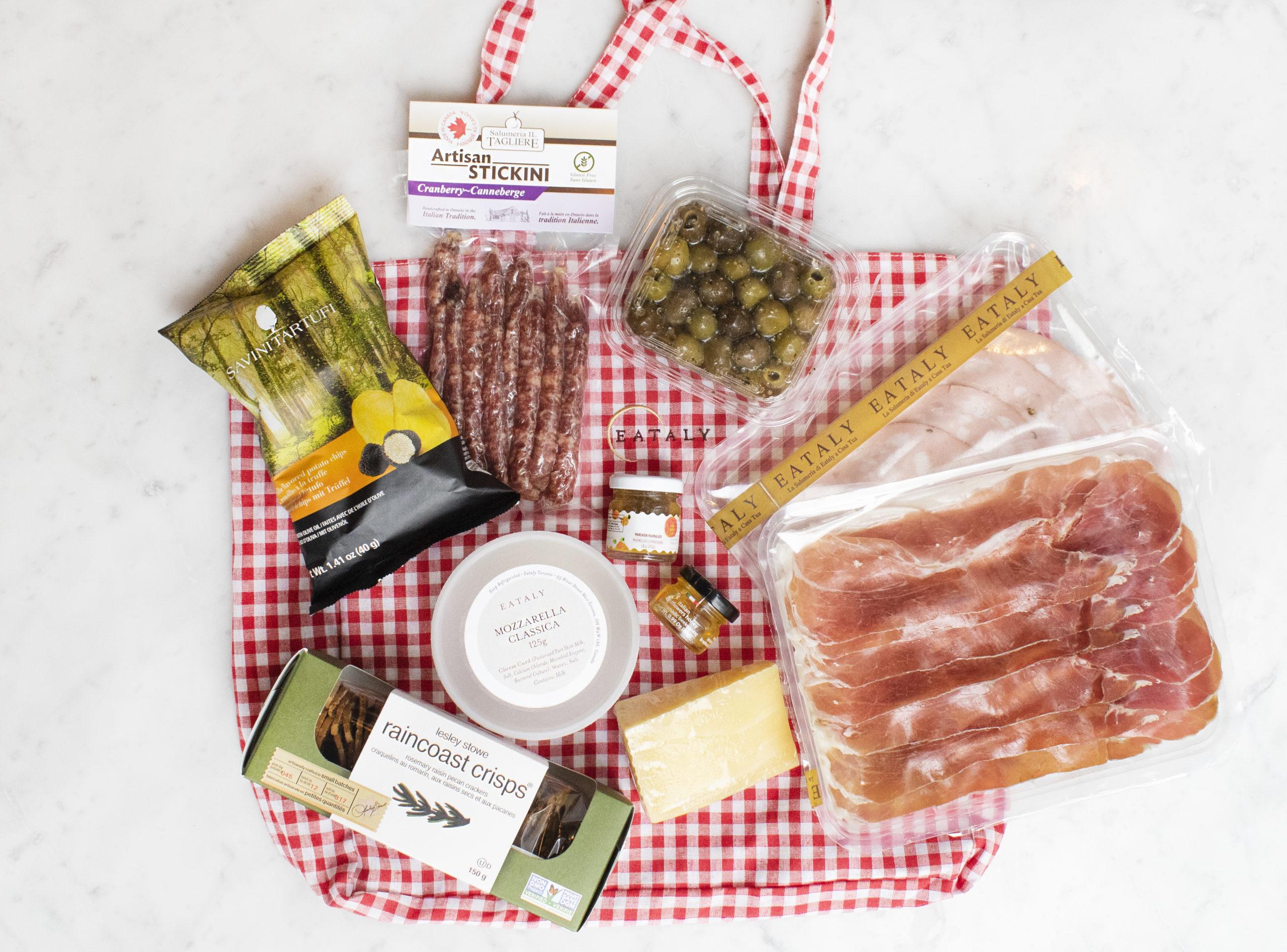 picnic basket ingredients