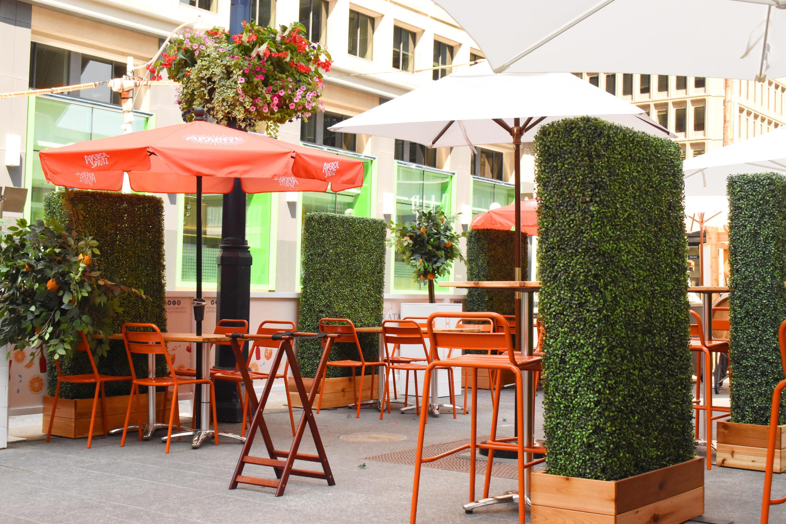 il patio di eataly by aperol