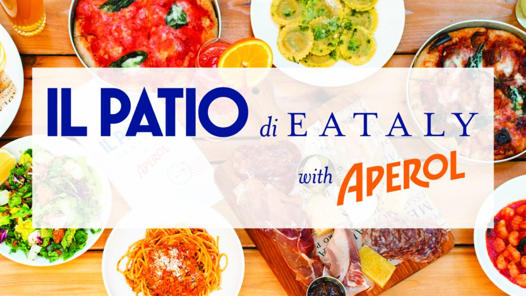 Il Patio di Eataly with Aperol