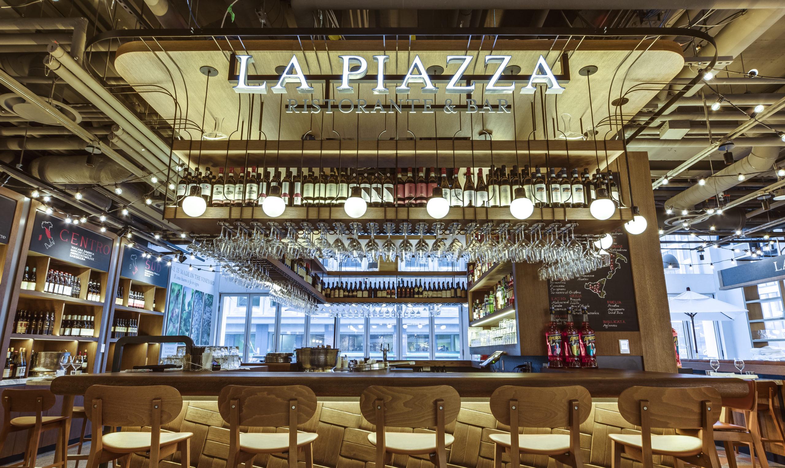 la piazza bar