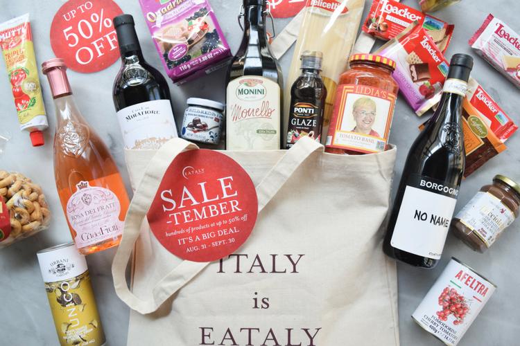italian products on sale