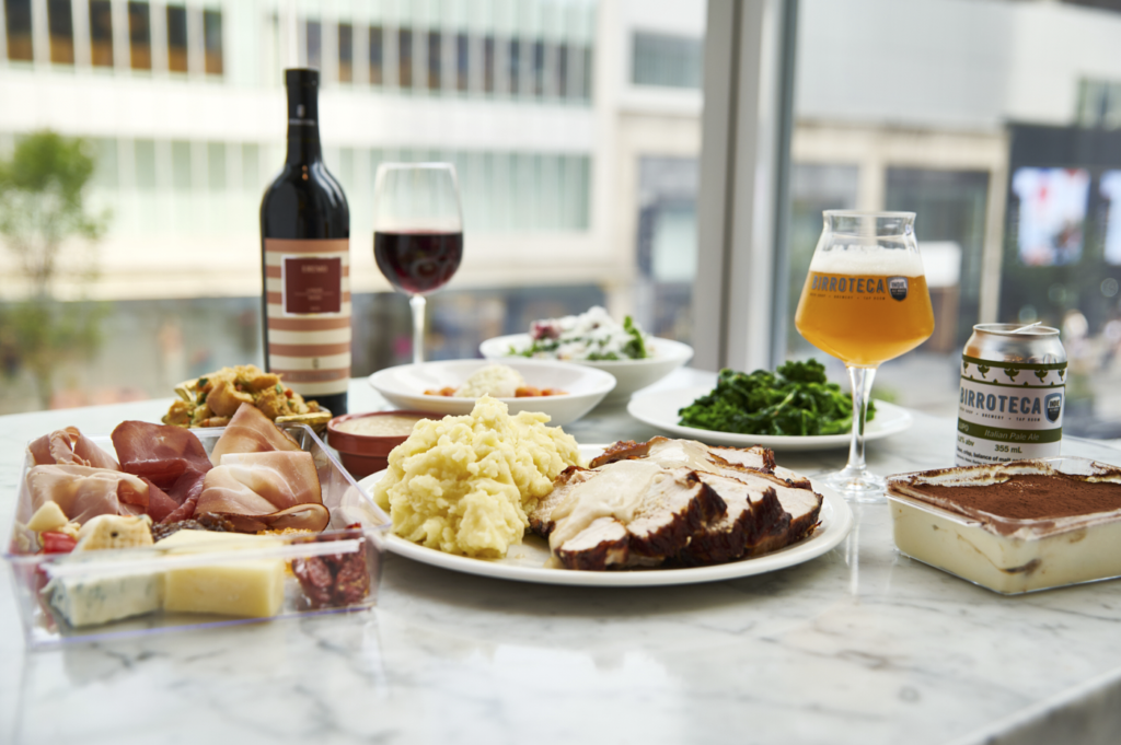 Eataly Toronto Thanksgiving Meal for 4