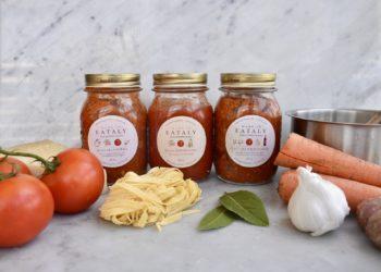 Homemade Italian sauce from Eataly