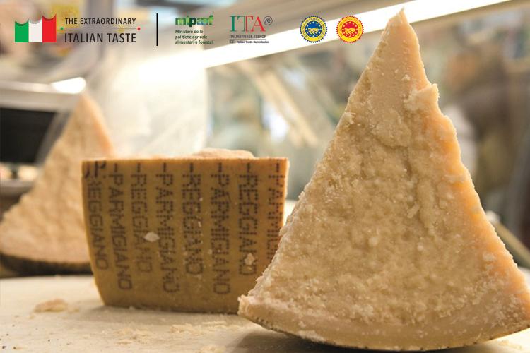 Chunk of Parmigiano Reggiano DOP